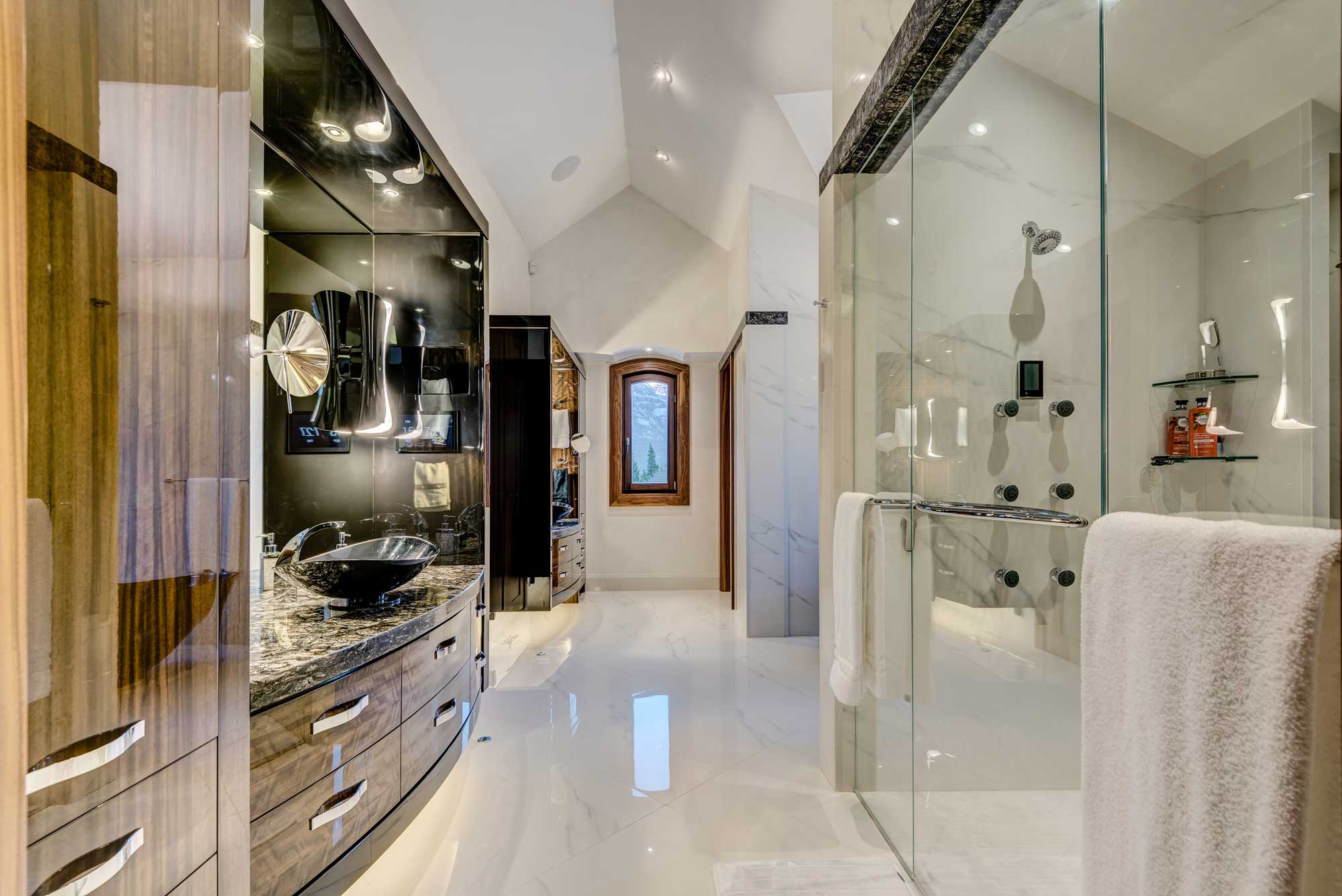 Luxury Custom Home Bathroom Renovation by Style Developments in Calgary Alberta