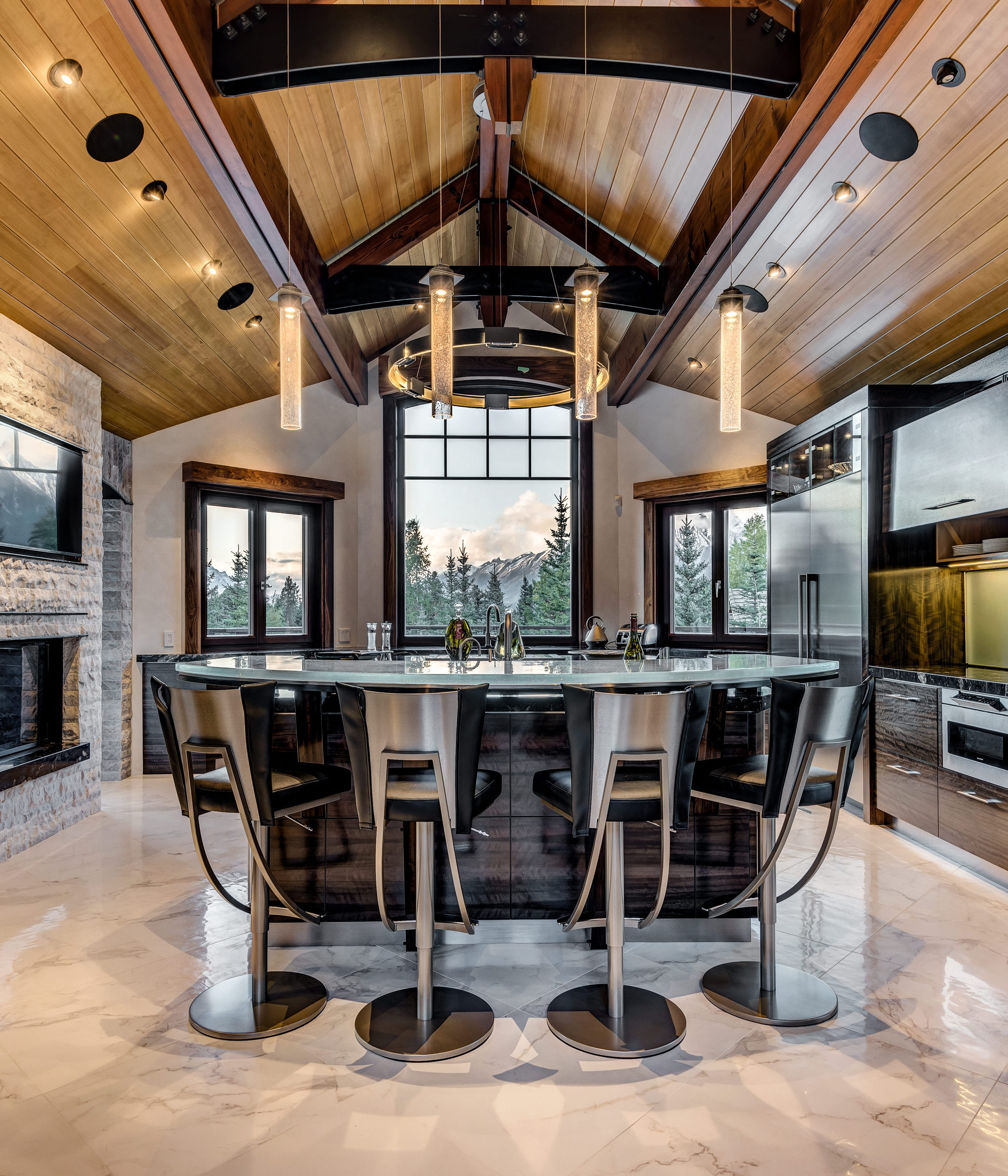 11 Canmore Custom Home Builder, Kitchen