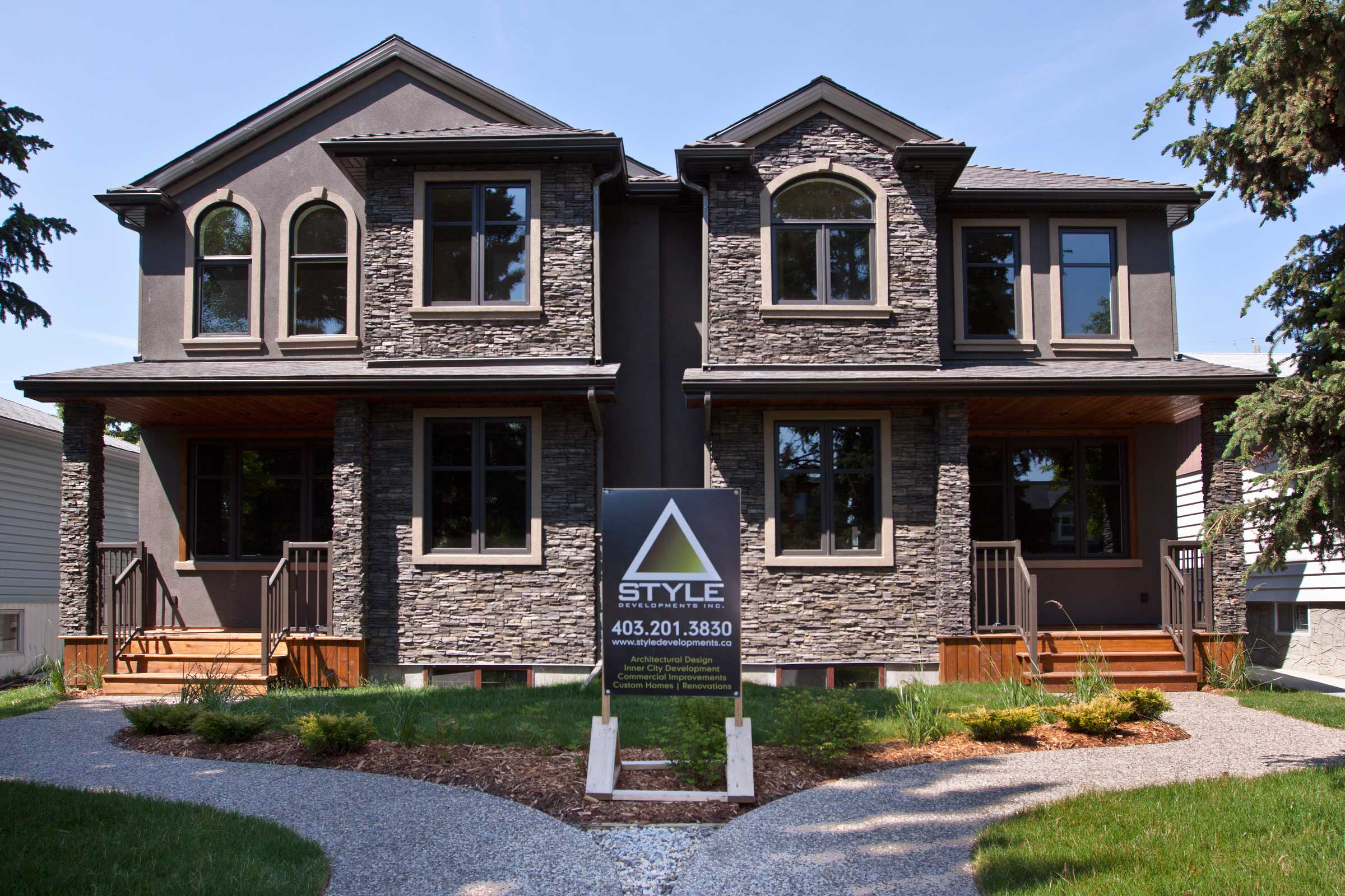 Duplex remodel by Style Developments in Calgary Alberta