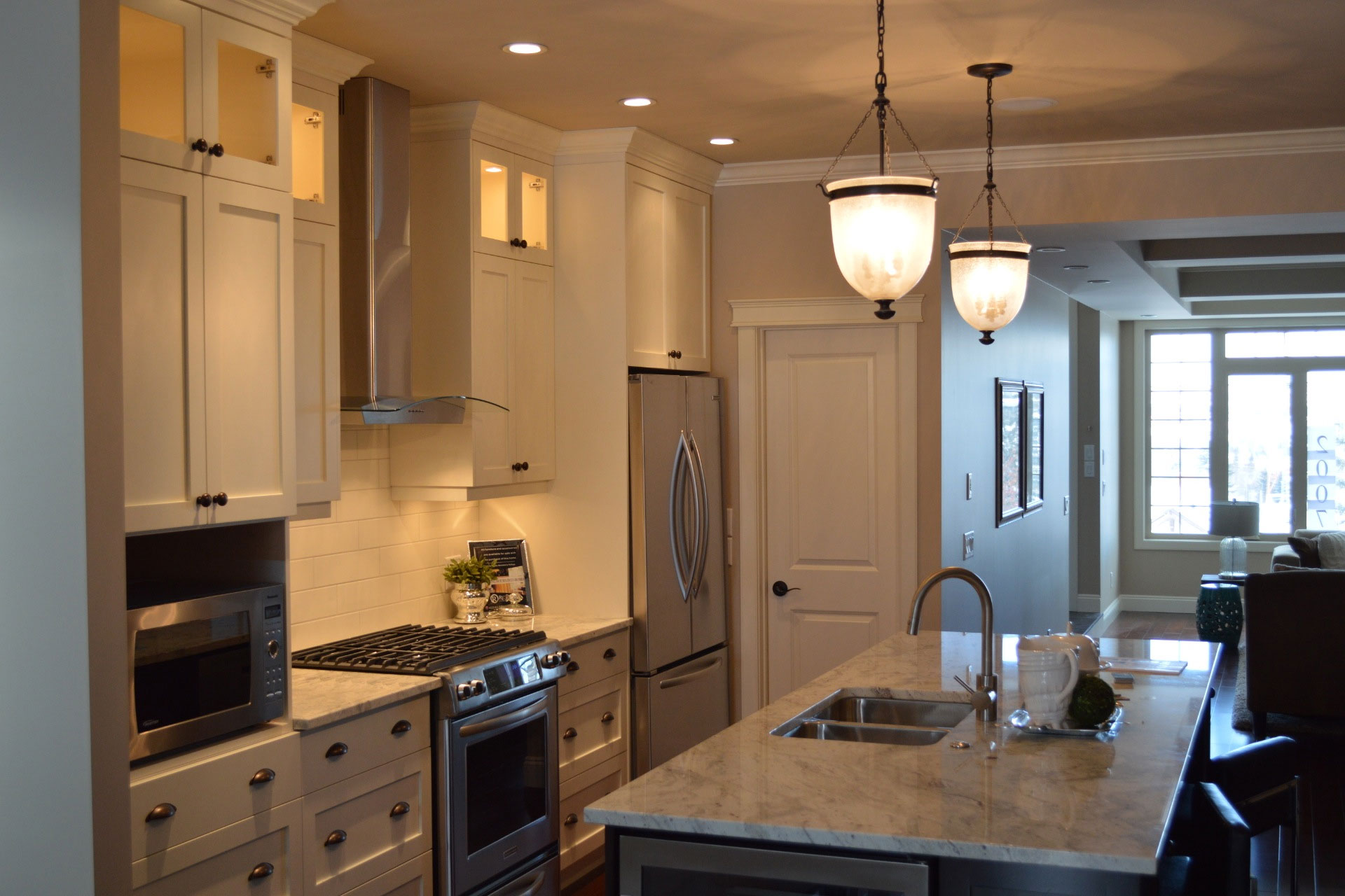 Duplex Kitchen Remodel by Style Developments in Calgary Alberta